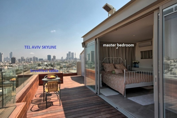 Tel Aviv Apartments - Penthouse with private swimmingpool, Tel Aviv - Image 19926